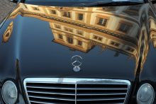 Prague Sunrise Photo Tour Mercedes Reflection