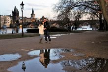 Hire photographer in Prague for honeymoon