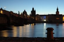River during the Prague Dawn Photo Tour